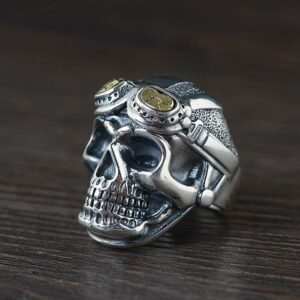 Air Force Skull Ring