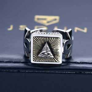 Ankh All Seeing Eye Ring