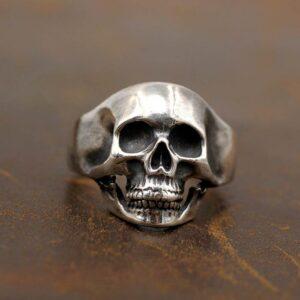 Hip Hop Skull Ring