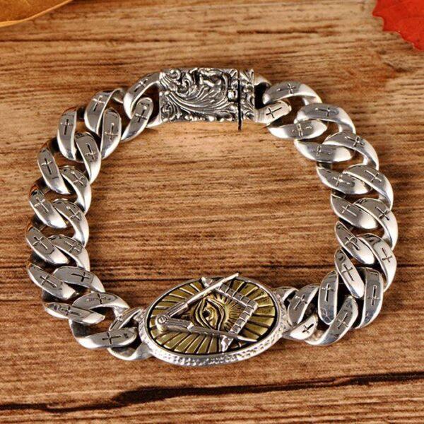 Masonic All Seeing Eye Bracelet