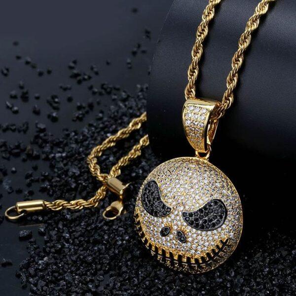 Jack Skellington Christmas Necklace