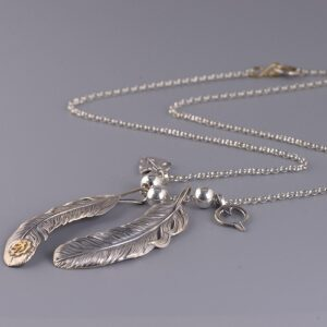 Men's Feather Necklace
