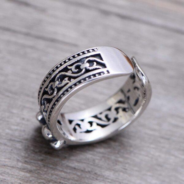Fleur De Lis Cuff Ring