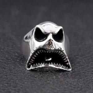 Halloween Demon Skull Ring