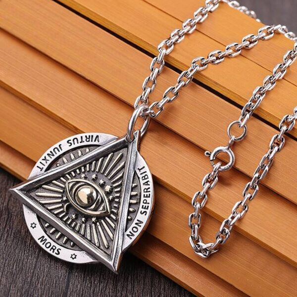 All Seeing Eye Pandent Necklace