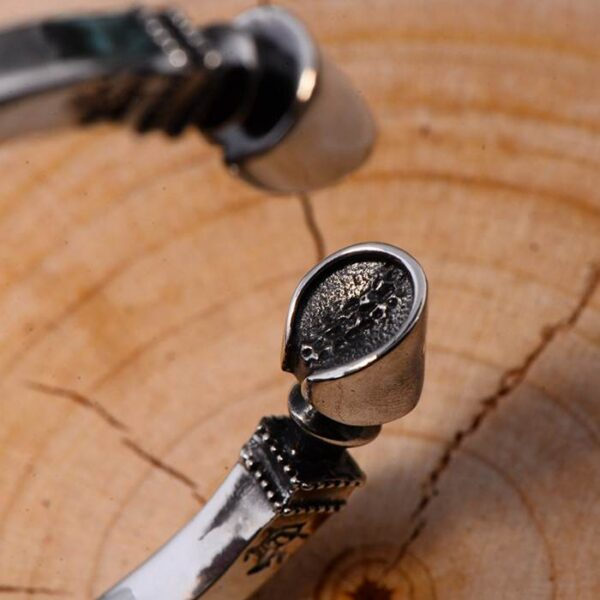 Sterling Silver Twisted Horseshoe Cuff Bracelet
