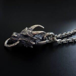 Dragon Head Pendant Necklace