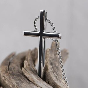 Enamel Cross Pendant Necklace