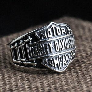 Harley Motorcycle Biker Ring