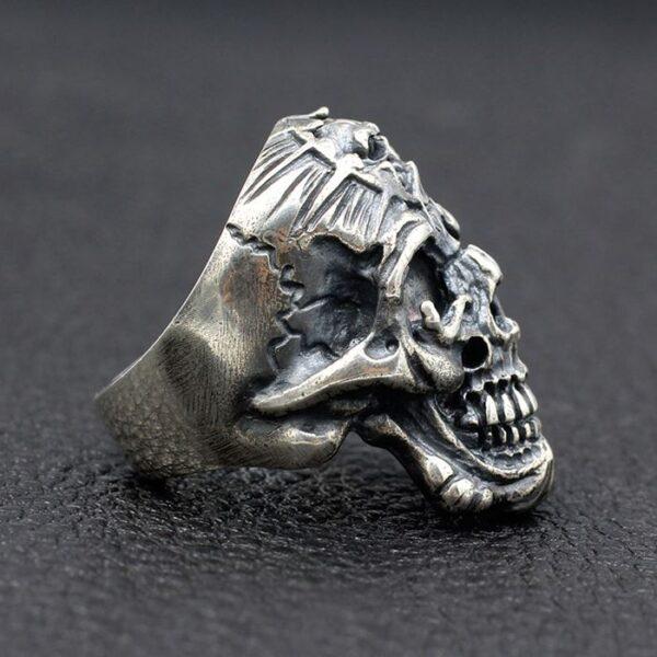 Hell Devil Skull Ring