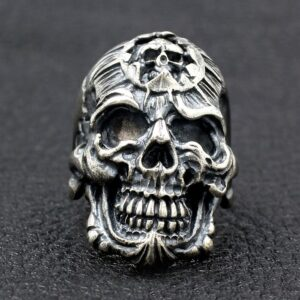 Hell Devil Skull Ring