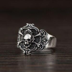 Skull And Crossbones Ring