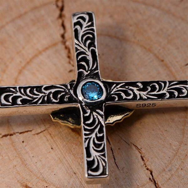 Virgin Mary Cross Pendant