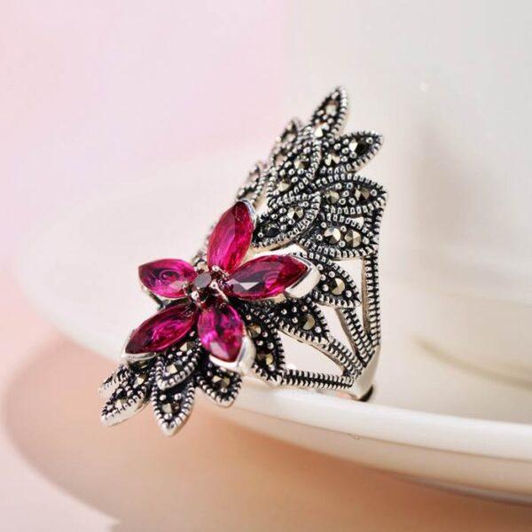 Flower Cocktail Ring
