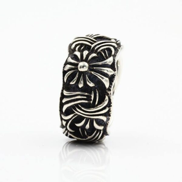 Sterling Silver Cross Patonce Ring