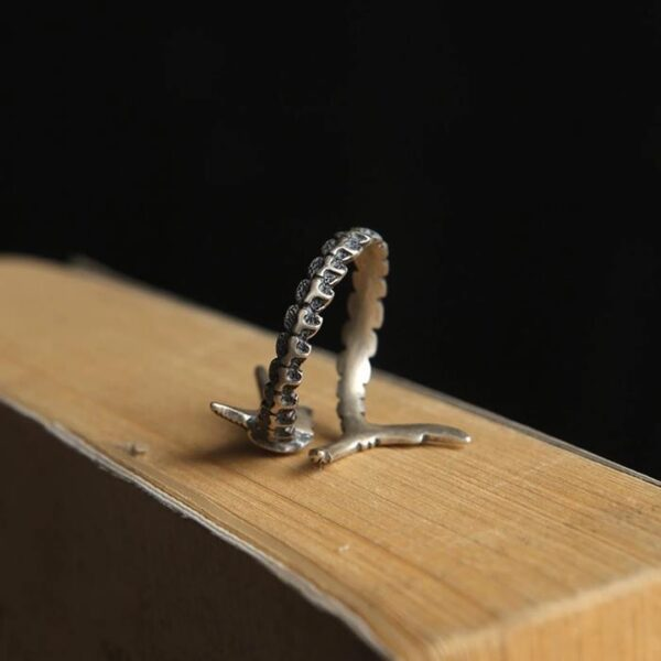 Sterling Sliver Sailfish Wrap Ring