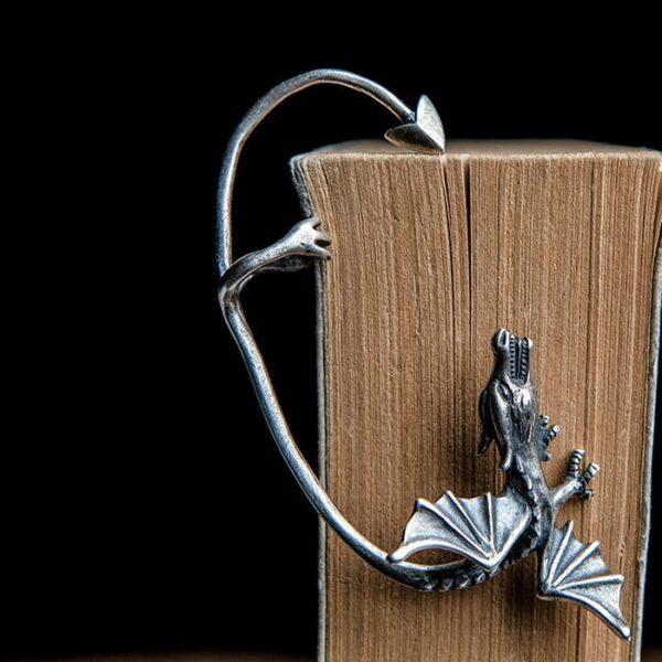 Womens Large 925 Silver Pterosaur Cuff Earring