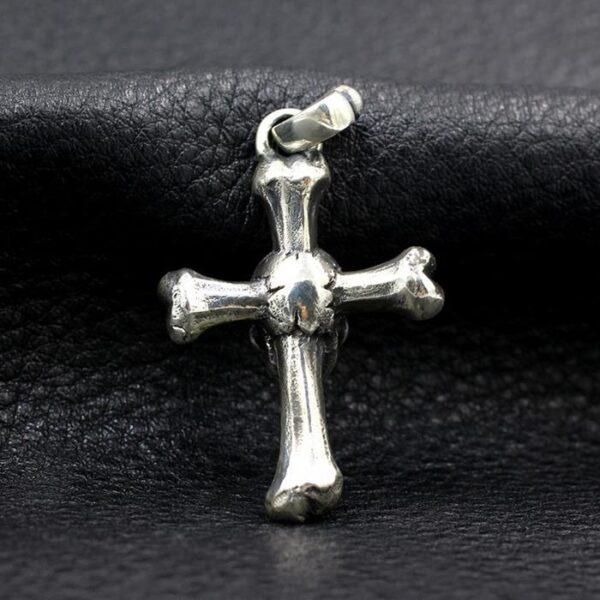 Cross Bones Skull Pendant