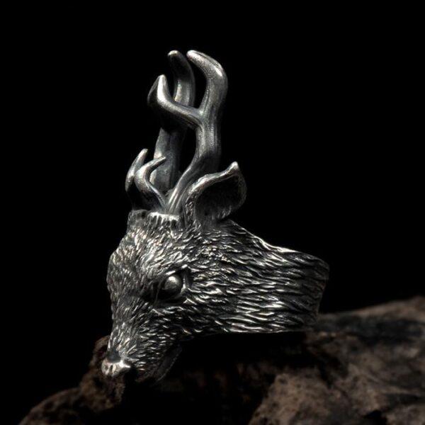 Deer Head Ring