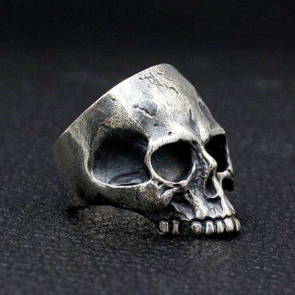 Half Jaw Skull Ring