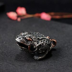 Sterling Silver Toad Pendant Charm