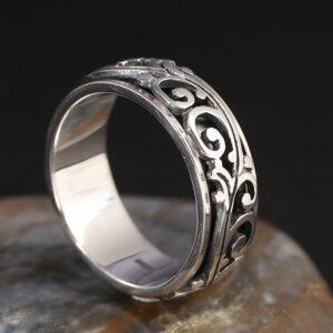 Arabesque Spinner Ring