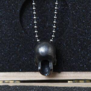 Flower Skull Necklace