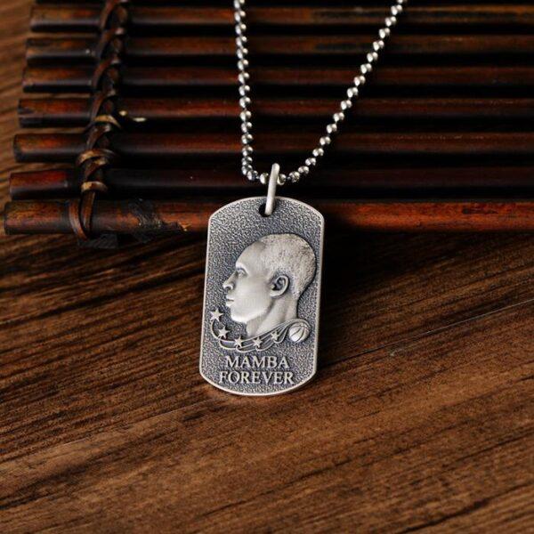 Kobe Memento Dog Tag Necklace