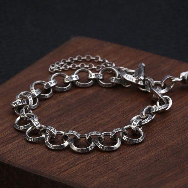 Silver Cross Patonce Bracelet