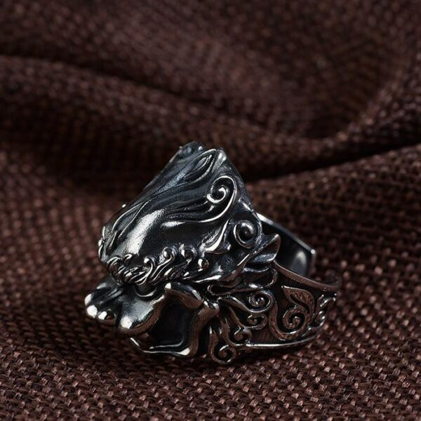 Silver Monster Ring