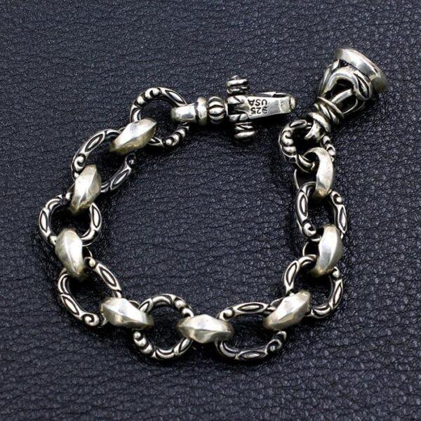 Sterling Sliver Bell Bracelet