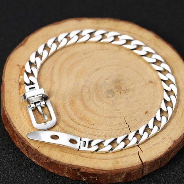 Belt Buckle Cuban Chain Bracelet