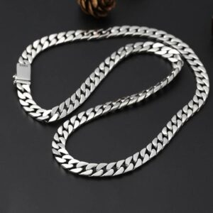 Chunky Cuban Link Chain Necklace