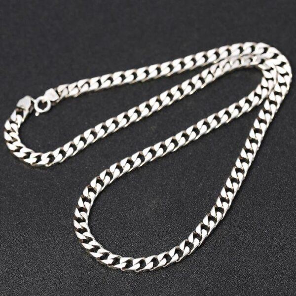 Flat Curb Link Chain