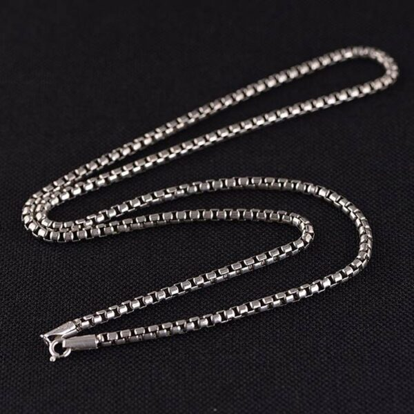 Rounded Box Chain Necklace