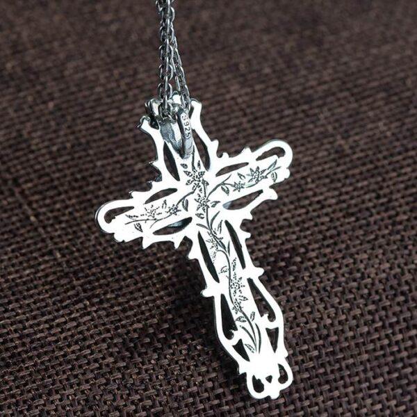 Crucifix Cross Pendant Necklace