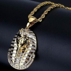 Men's Iced Out Pharaoh Necklace