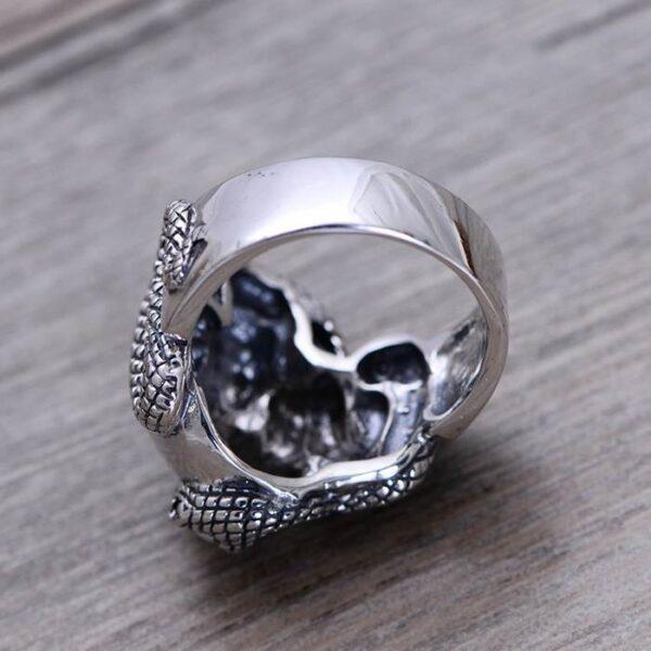 Snake & Skull Ring