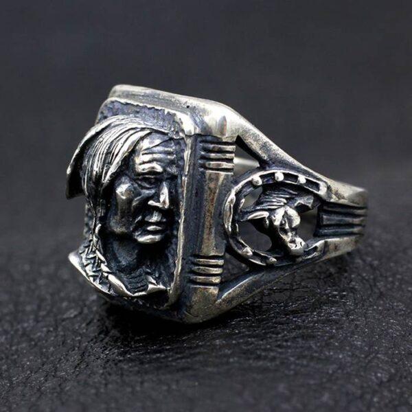Vintage Indian Head Ring