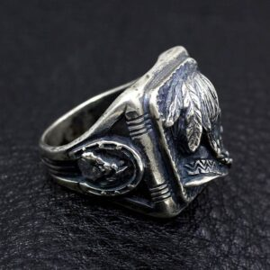 Vintage Indian Head Ring