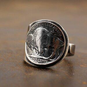 Buffalo Nickel Ring