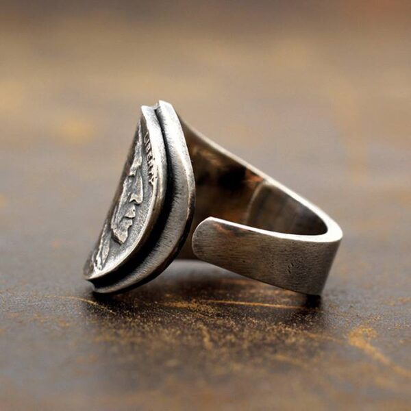 Coin Indian Head Nickel Ring