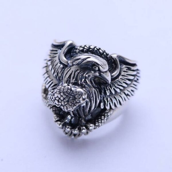 Eagle Snake Ring