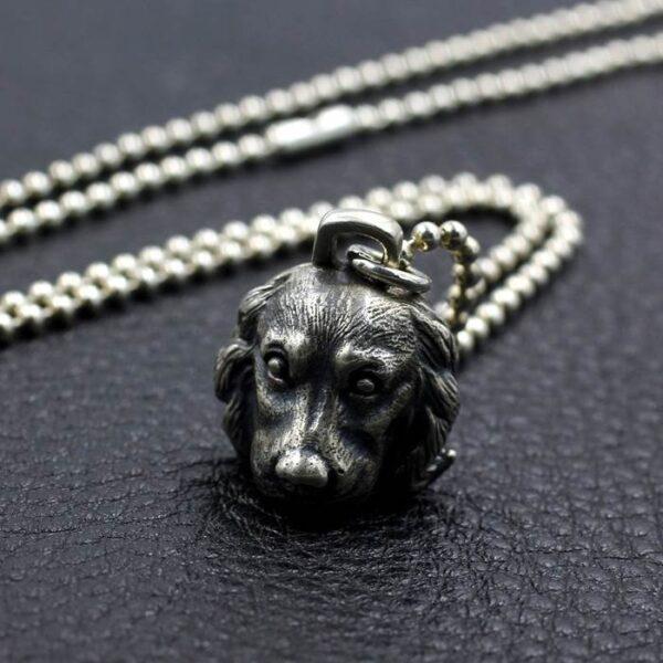 Labrador Retriever Dog Pendant Necklace