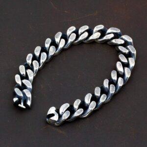 Sterling Silver Cuban Link Chain Bracelet
