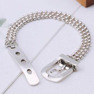 Bead Chain Belt Clasp Bracelet