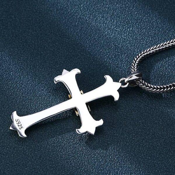 Eye Cross Pendant Necklace
