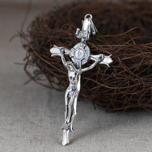 Jesus Crucifix Pendant Necklace