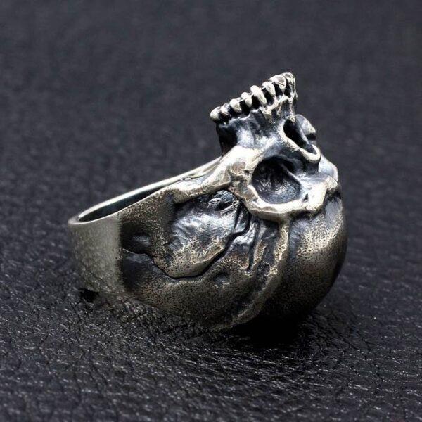 Men's Silver Revenant Skull Ring