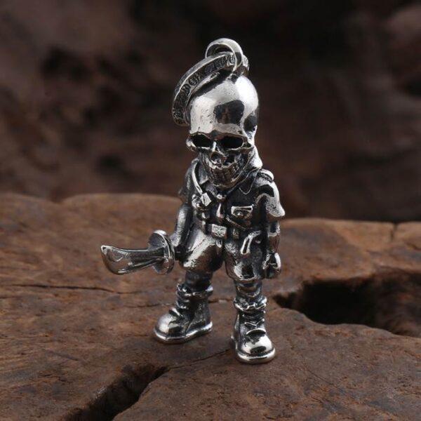 Skull Warrior Pendant